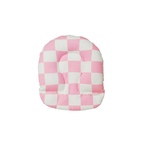 airbuggy-head-support-checker-pink