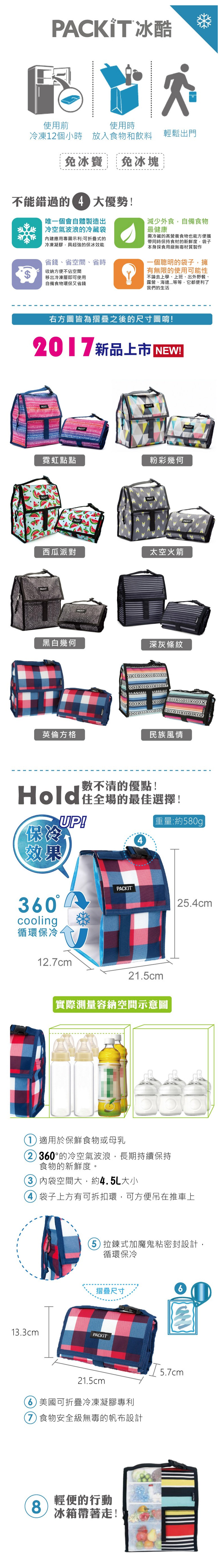 PACKiT多功能冷藏袋info1