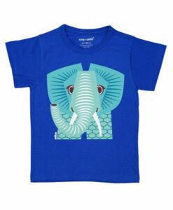 法國COQENPATE-短袖T-藍大象-正
