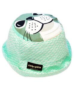 遮陽帽-海豹