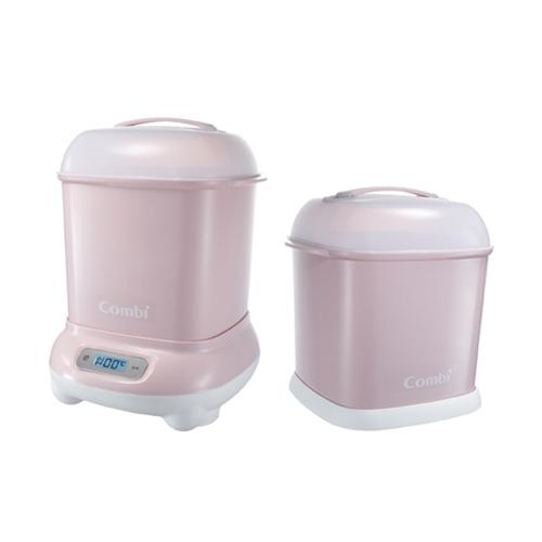 combi 消毒鍋+保管箱-粉色