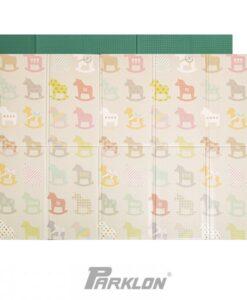 帕龍-攜帶式地墊-彩色木馬-1