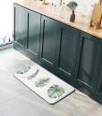 帕龍-廚房地墊-綠葉款1
