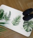 帕龍-廚房地墊-綠葉款2