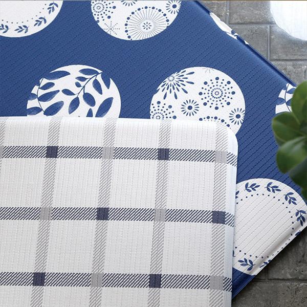 帕龍-廚房地墊-青花瓷1