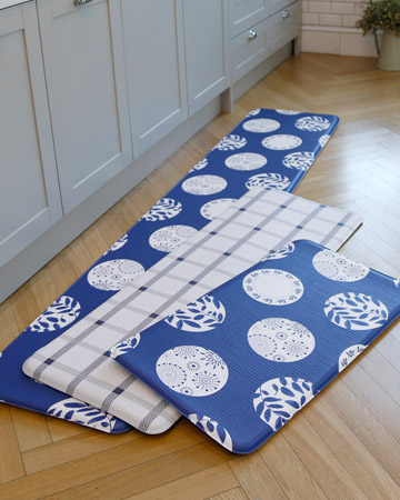 帕龍-廚房地墊-青花瓷