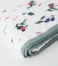 LittleUnicorn 竹纖維四層紗布毯 野莓果02