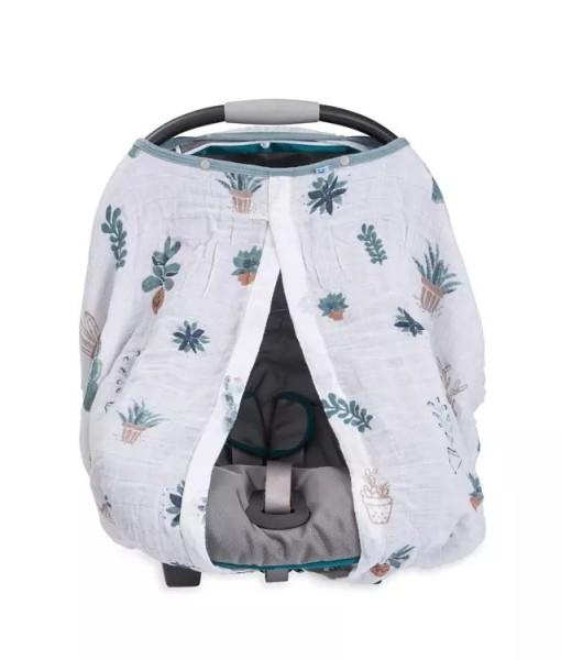 LittleUnicorn 純棉紗布提籃罩 多肉植物02