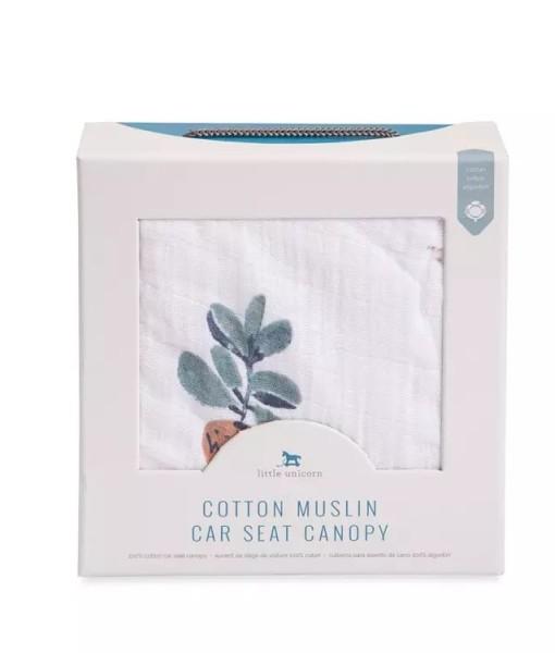 LittleUnicorn 純棉紗布提籃罩 多肉植物03