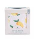 LittleUnicorn 純棉紗布提籃罩 檸檬汽水03