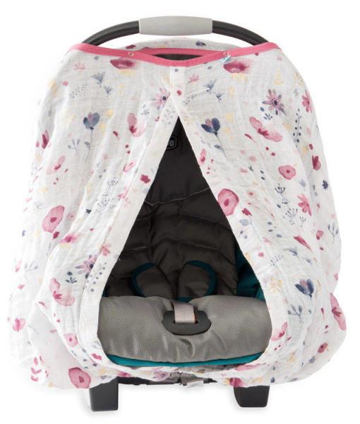 LittleUnicorn 純棉紗布提籃罩 童話花園02