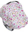 LittleUnicorn 純棉紗布提籃罩 繁花盛開