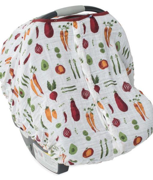 LittleUnicorn 純棉紗布提籃罩 開心農場