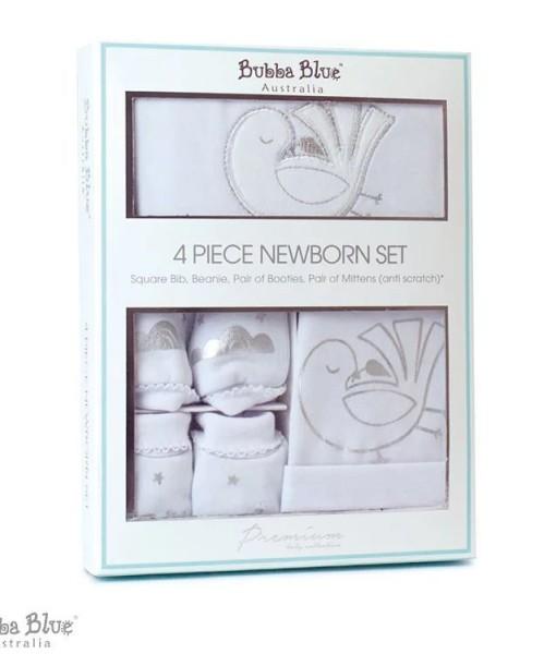 BubbaBlue 新生兒禮盒組 送子鳥