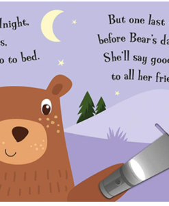 A Magic Torch Book:Goodnight Bear 小熊說晚安趣味膠片書01