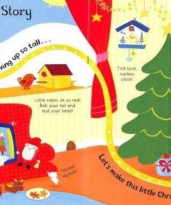 Christmas Stories 聖誕故事 硬頁翻翻觸摸書01