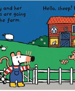 Maisy's Farm 小鼠波波的農場硬頁書(美國版)01