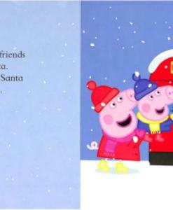 Peppa Pig:Peppa's Christmas 佩佩豬的聖誕節 精裝硬頁書01