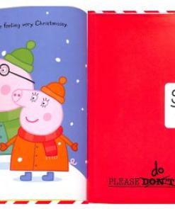 Peppa Pig:Peppa's Christmas Post 佩佩豬寄聖誕信 互動操作故事書01