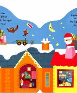 Whizzy Santa 聖誕老公公的新車 輪子轉轉硬頁書05