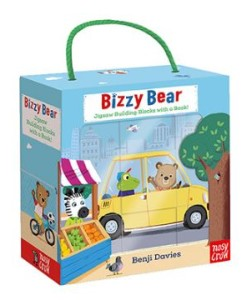Bizzy Bear Book And Blocks Set熊熊遊戲拼圖組合