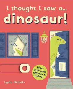 I Thought I Saw A... Dinosaur! 恐龍玩捉迷藏 硬頁操作書01