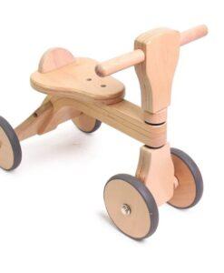 HOPPL  First Woody Bike木製兒童滑步車-天然原木01