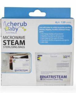CherubBaby 蒸氣消毒袋 (6入)02